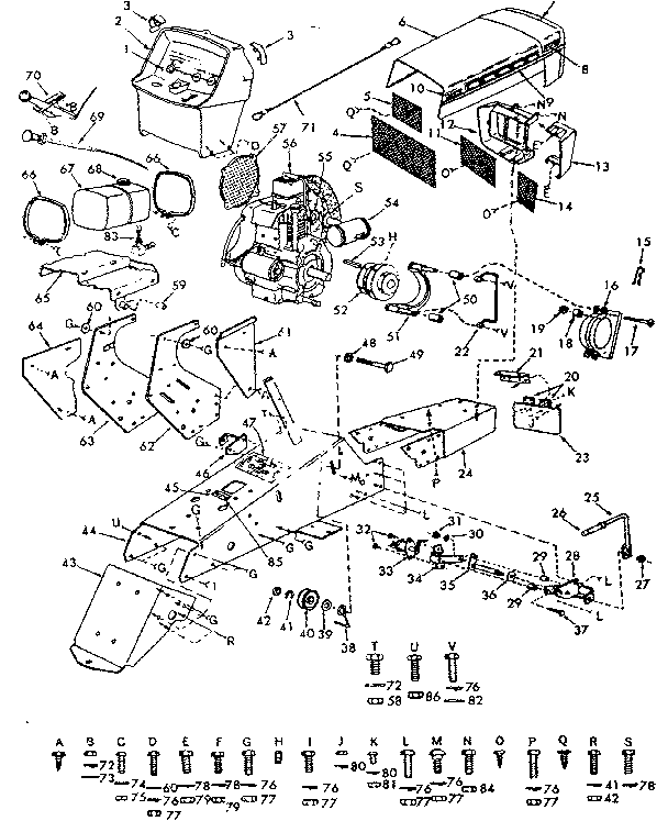 Sears Tractor Wiring Diagram 917 273180, Sears, Free