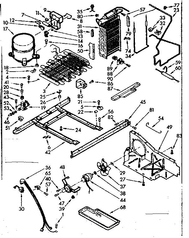 kenmore 106 refrigerator parts diagram honda accord ecu wiring model 1067630562 refrigerators misc genuine
