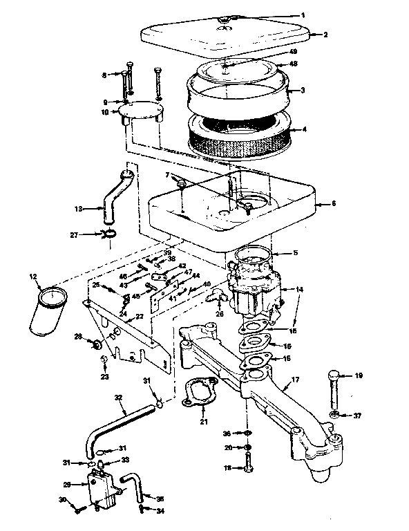 Onan 5500 Generator Parts Manual