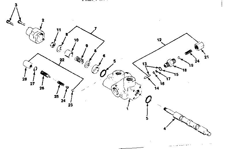 AUTOMATIC RETURN VALVE (ARV) PARTS Diagram & Parts List