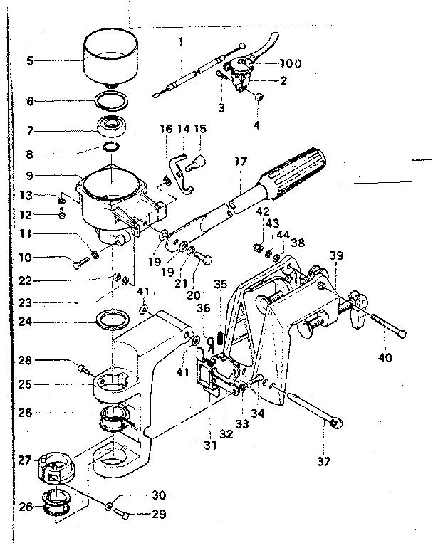 CRAFTSMAN Gamefisher Outboard Motor 1.75 HP Carburetor