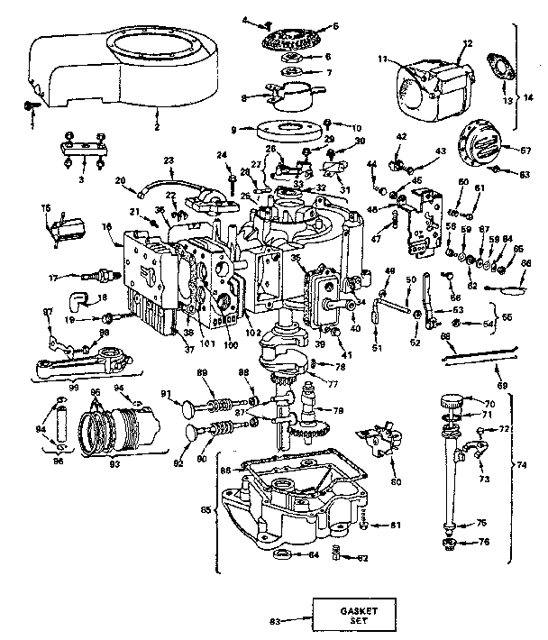 8 Hp Briggs And Stratton Engine Governor Linkage Diagram