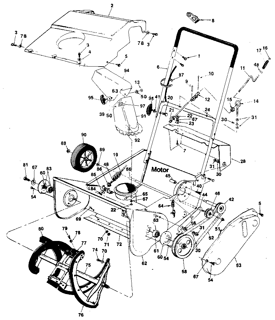 get craftsman parts and free manual for model 247882900 gas snow rh toolboxhero com sears parts manuals sears parts manual lawn mower