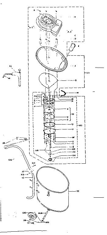 CRAFTSMAN SEARS MINI POWER SPRAYER 7 GALLON CAPACITY Parts