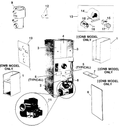 photos of rheem oil furnace parts [ 1008 x 1024 Pixel ]