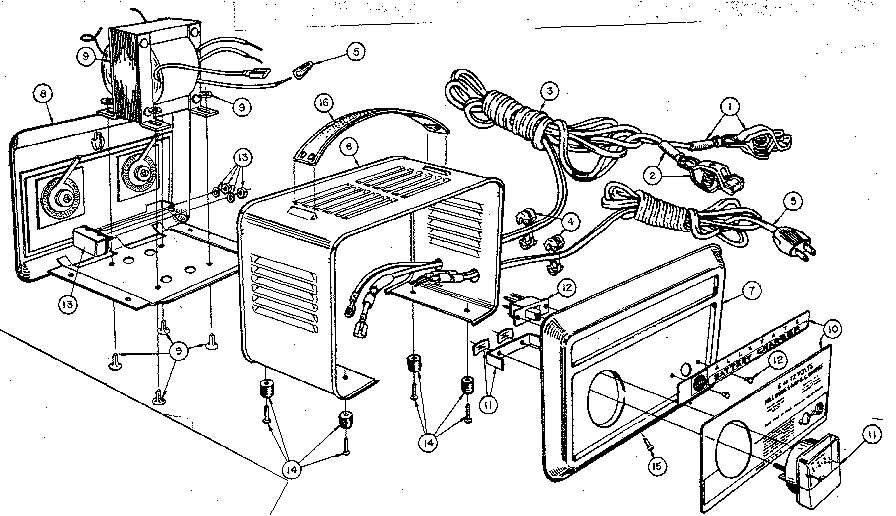 Marquette Battery Charger Schematic Marquette Redi Fast