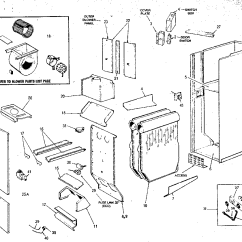 Rheem Gas Furnace Parts Diagram Basic Turn Signal Wiring Fired Counterflow Heating Units Blower And Heat