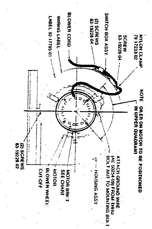 RHEEM Gas-Fired Counterflow Heating Units Model number