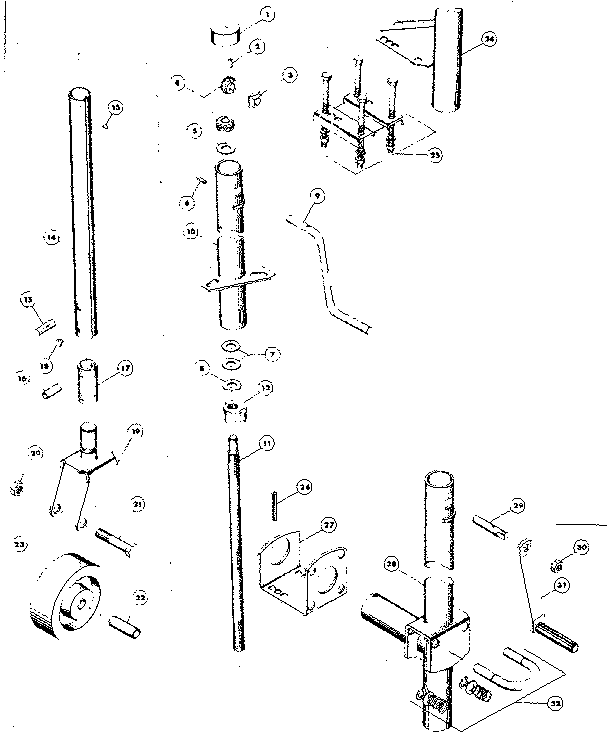 Wiring Diagram: 35 Fulton Trailer Jack Parts Diagram