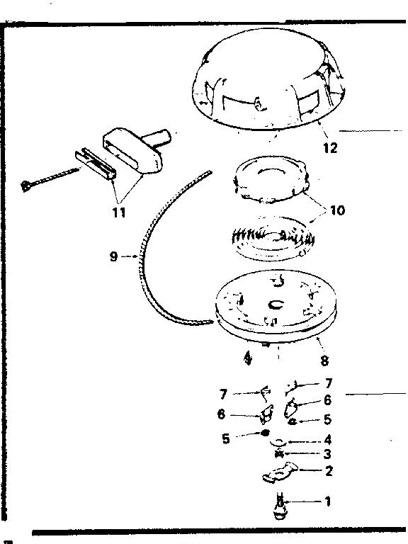 REWIND STARTER NO. 590479 Diagram & Parts List for Model