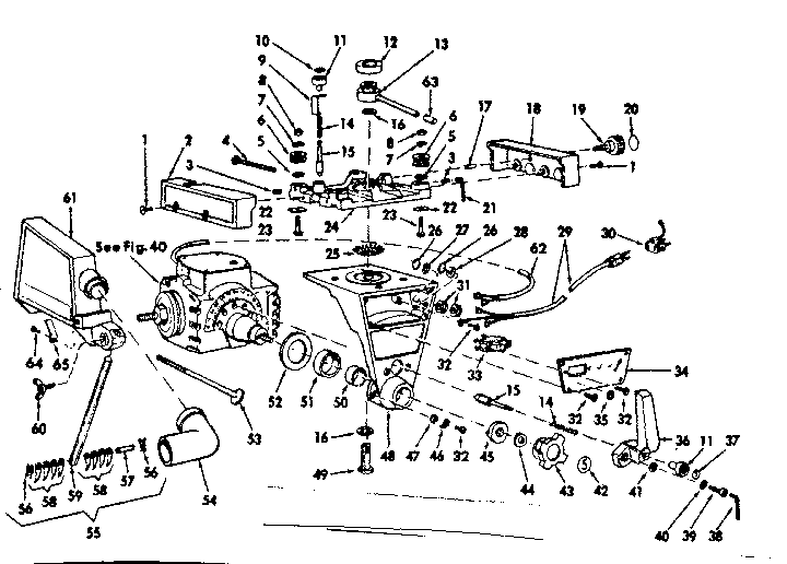 YOKE ASSEMBLY Diagram & Parts List for Model 11329350