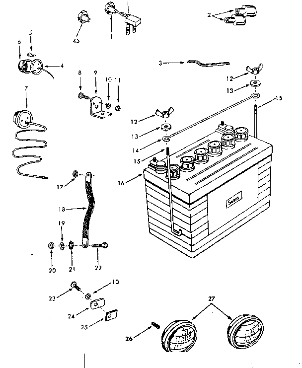 Sears Custom 10xl Tractor Wiring Diagram. . Wiring Diagram