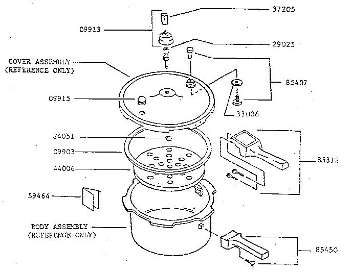 Presto Pressure Cooker Parts Gasket