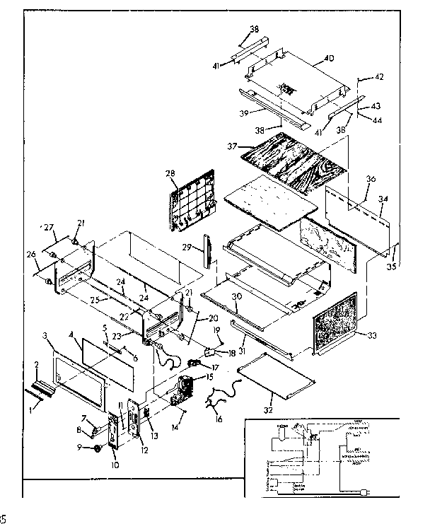 toaster oven wiring diagram