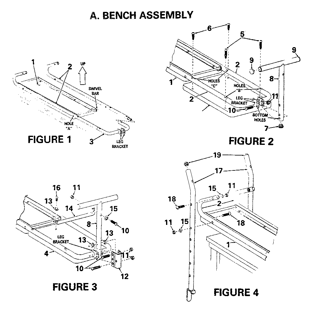 Weight Bench Instructions PDF Woodworking