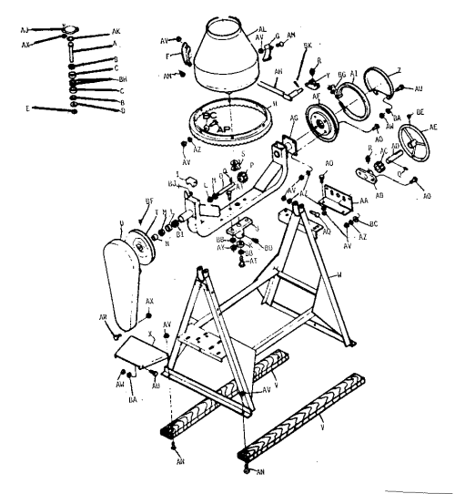 small resolution of gilson 59020 unit parts diagram