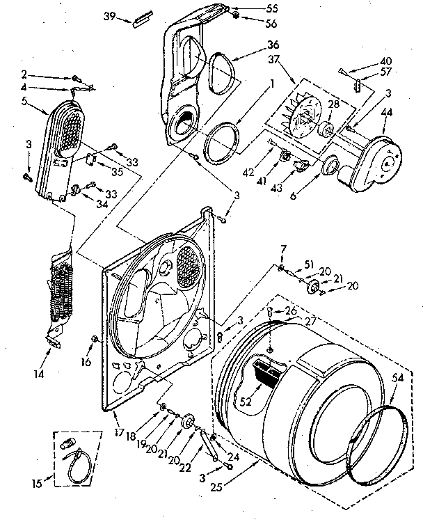 Kenmore dryer model 417 manual