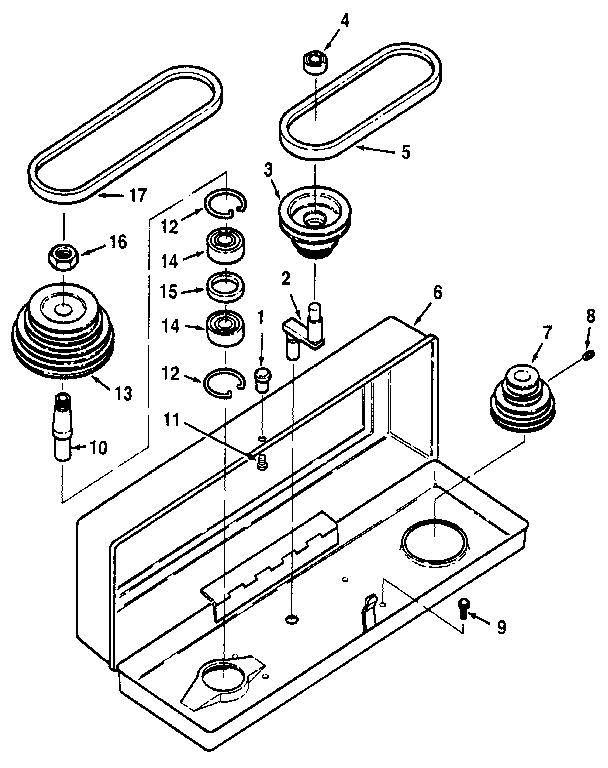 FIGURE 2 Diagram & Parts List for Model 113213150