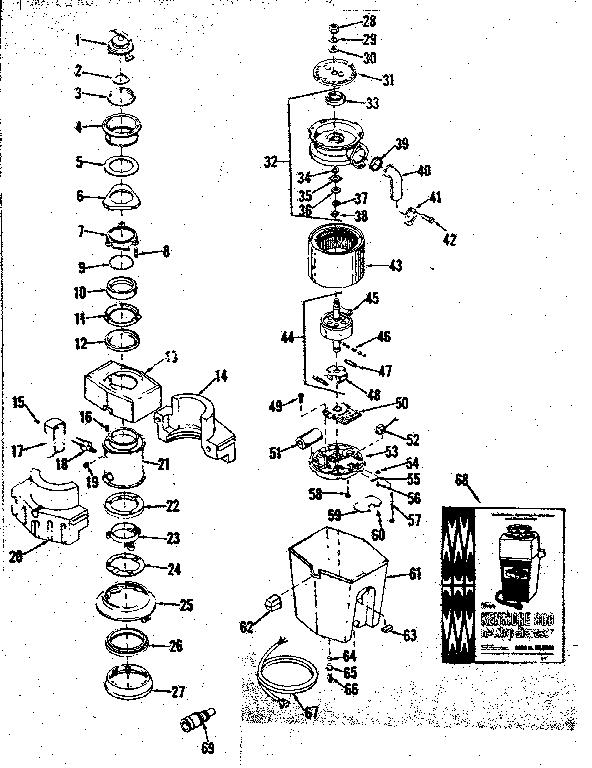REPLACEMENT PARTS Diagram & Parts List for Model 17565390
