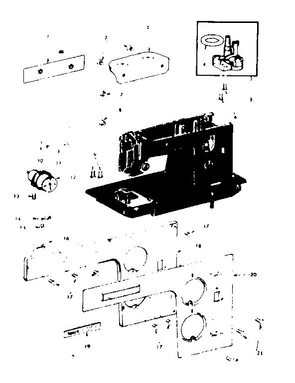 Manual Elgin Zig Zag Super