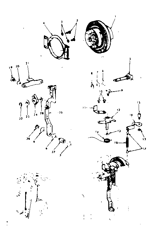 Kenmore Sewing Machine Parts 15818033