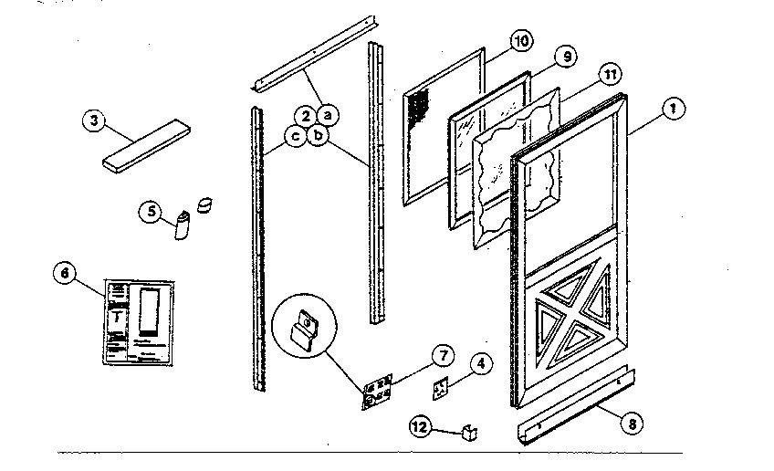 Door Frame: Parts Of A Door Frame