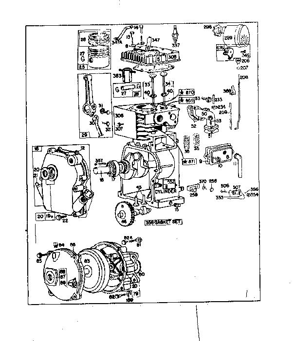BRIGGS & STRATTON Briggs Stratton Gas Engines Parts