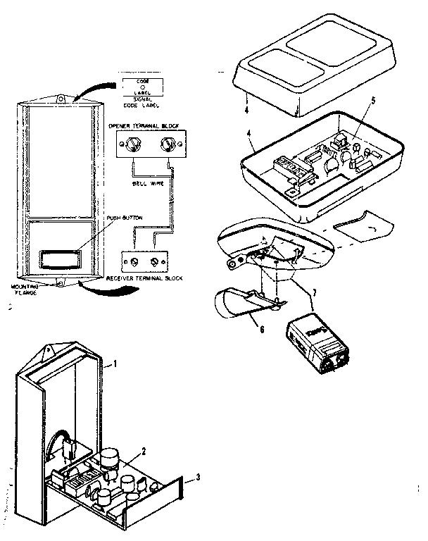 Garage Door Parts: Sears Craftsman Garage Door Parts List