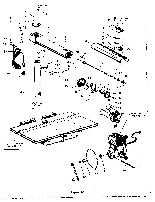 CRAFTSMAN CRAFTSMAN ACCRA-ARM 10 INCH RADIAL SAW Parts
