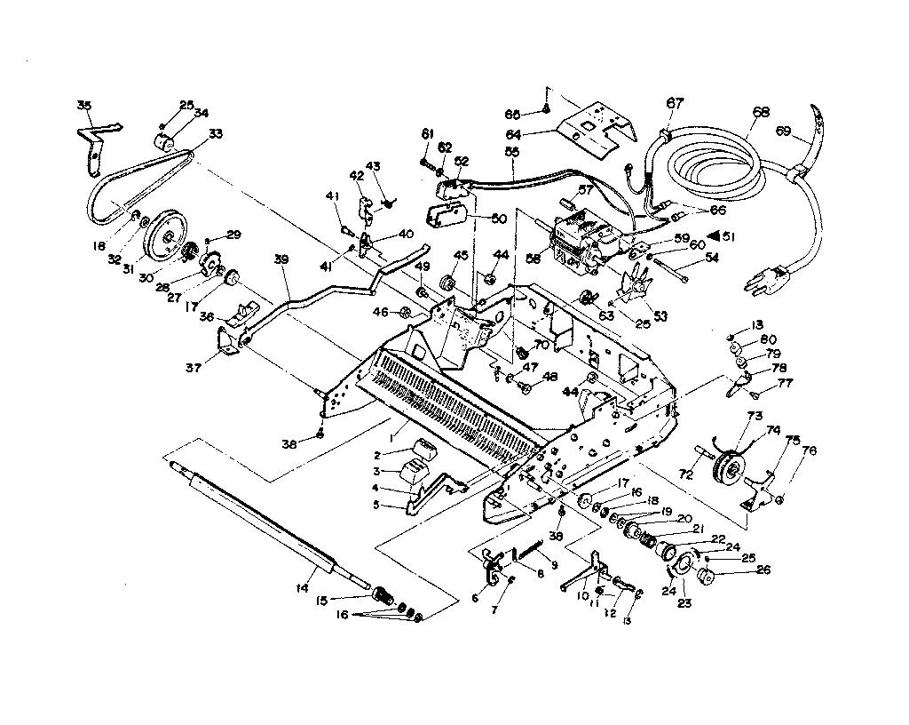 manual typewriter diagram tekonsha p3 wiring sears parts model 16153581