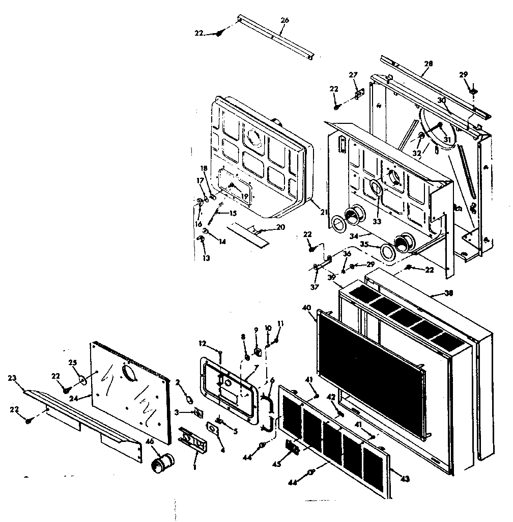 Wall Furnace: Sears Wall Furnace