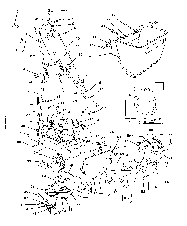 Mclane Lawn Mower Engine Diagram Small Engine Diagram