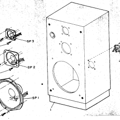 Parts Of A Speaker Diagram Thermistor Wiring Box Assembly And List For Model