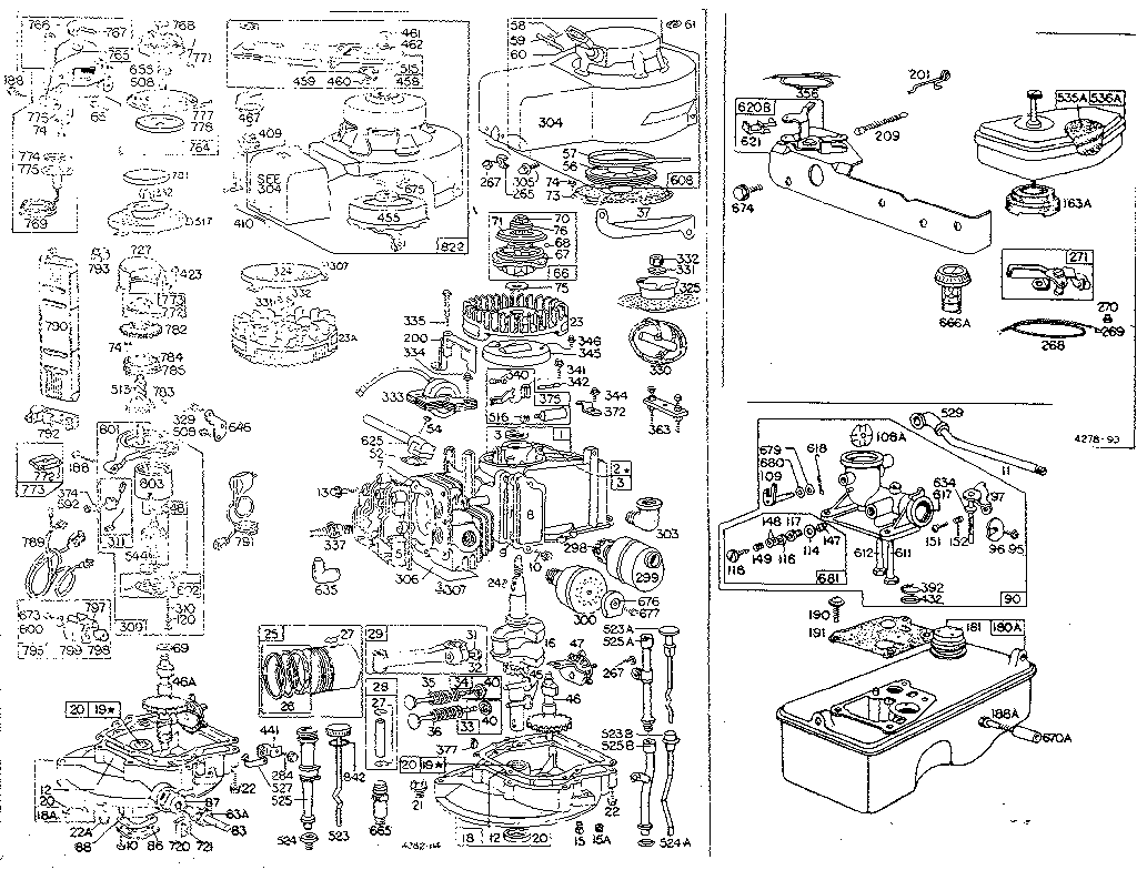 Briggs And Stratton 675 Engine Diagram, Briggs, Free