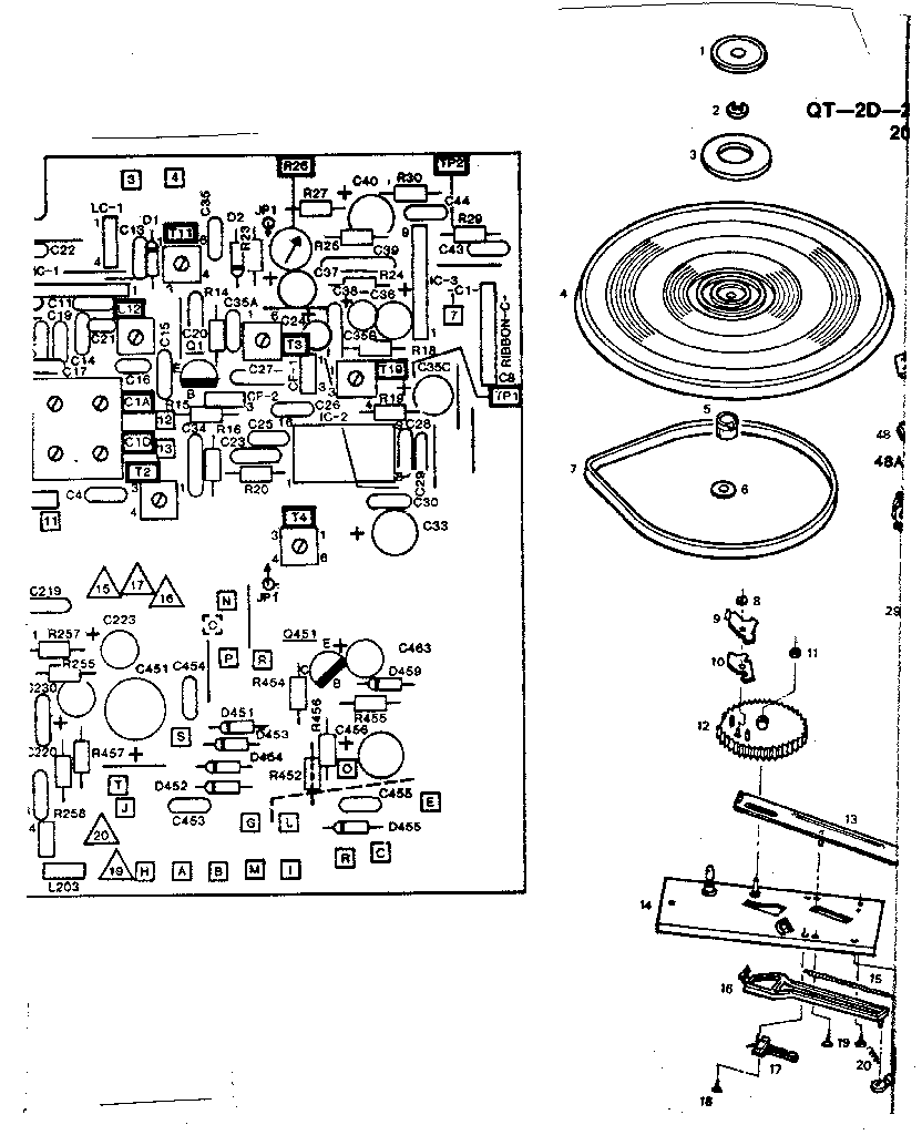 medium resolution of lxi 13291828450 wiring diagram and turntable assembly diagram