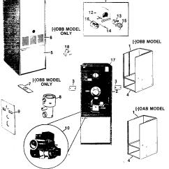 Oil Furnace Parts Diagram Bmw E46 Wiring 2 Rheem Model Oab Heater Genuine