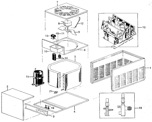 small resolution of looking for rheem model raca central air conditioner repair ruud air conditioner parts diagram