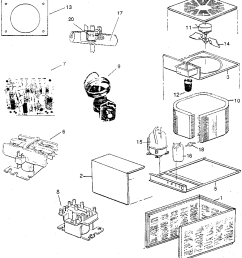 rheem pcb replacement parts diagram [ 912 x 1024 Pixel ]