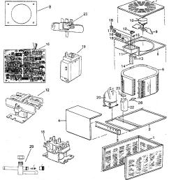 rheem pga replacement parts diagram [ 928 x 1024 Pixel ]