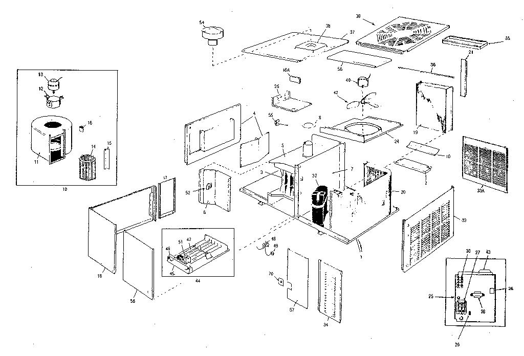 REPLACEMENT PARTS Diagram & Parts List for Model rad Rheem
