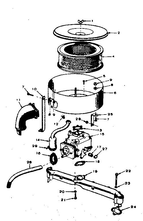 B48m Onan Carburetor Parts Diagram, B48m, Free Engine
