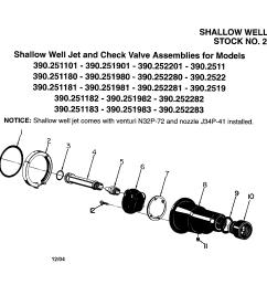 craftsman 29650 shallow well set and check valve assemblies diagram [ 2200 x 1696 Pixel ]