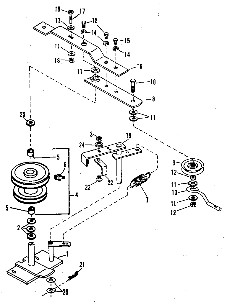 Craftsman Snowblower Attachment Parts Diagram