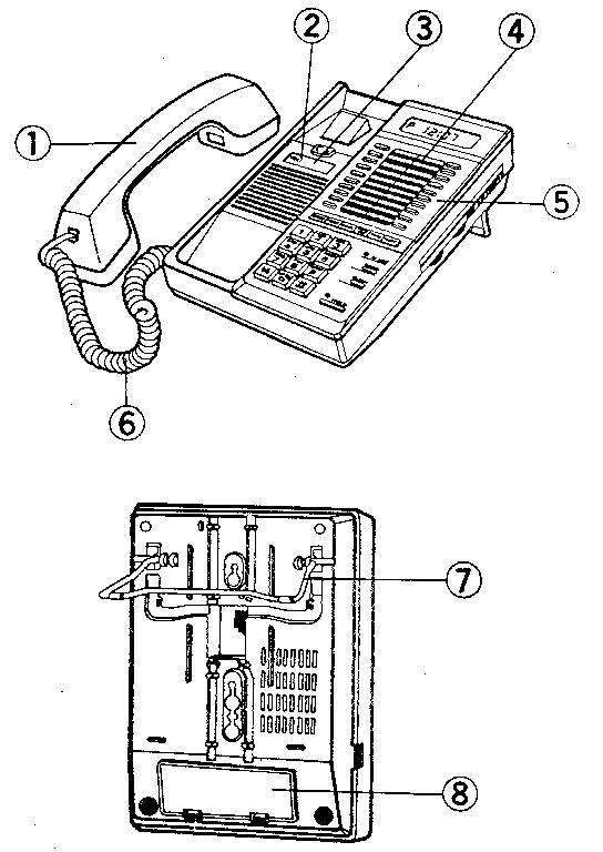 Telephone Diagram Handset Cords Telephone Receiver Cords