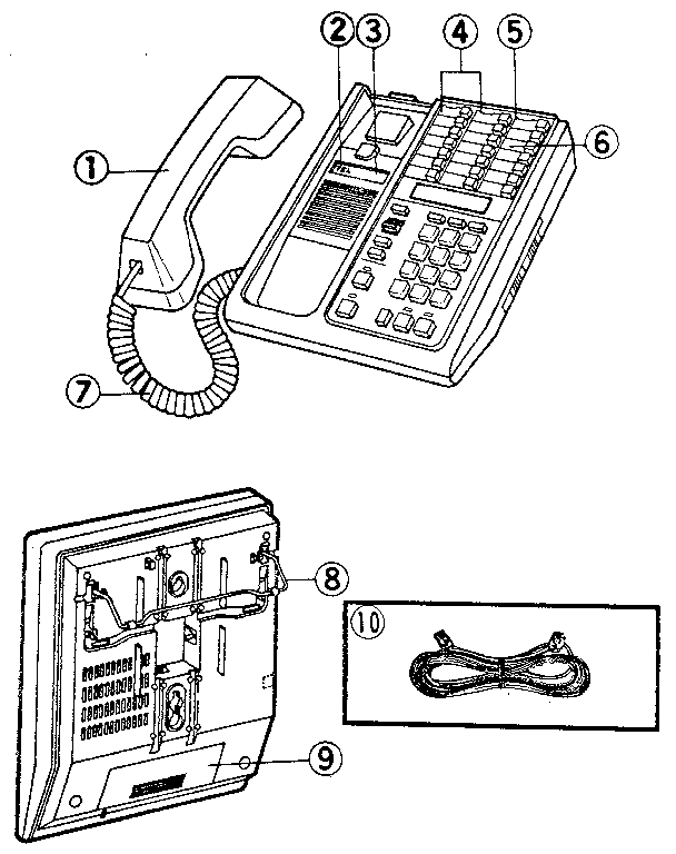Rotary Telephone Parts Diagram Manual Typewriter Parts