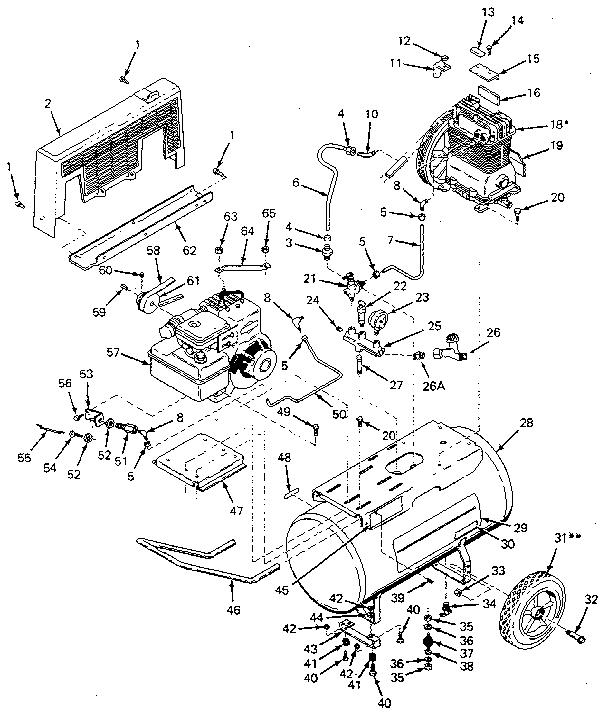 Craftsman 919157151 Air Compressor