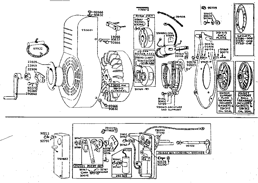 Dorable Exploded View Of Briggs And Stratton Engine