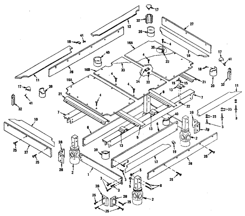 small resolution of sears 52725117 unit parts diagram