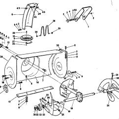 Gfci Wiring Diagram Feed Through Method 2005 Nissan Pathfinder Trailer John Deere 826 Snowblower - Auto Electrical