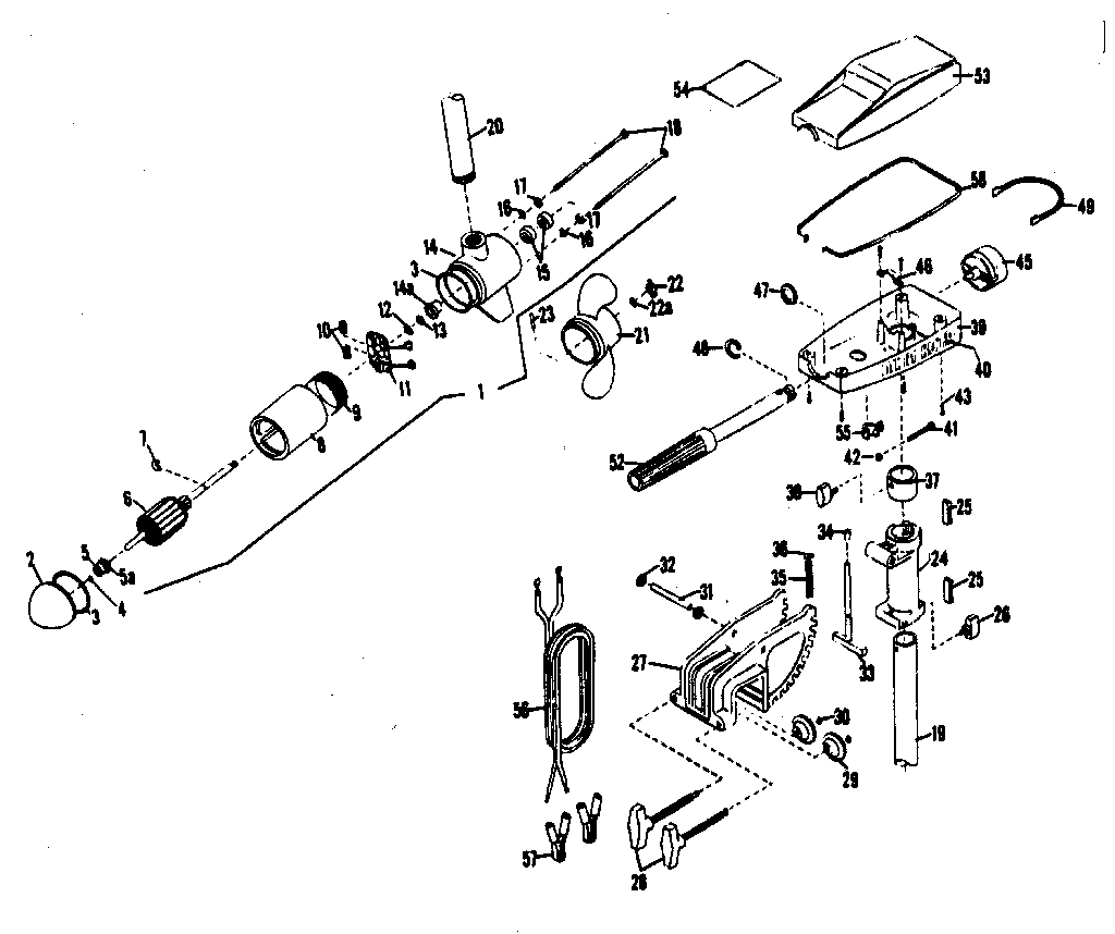 [Exploded View Of 1981 Plymouth Reliant Manual Gearbox